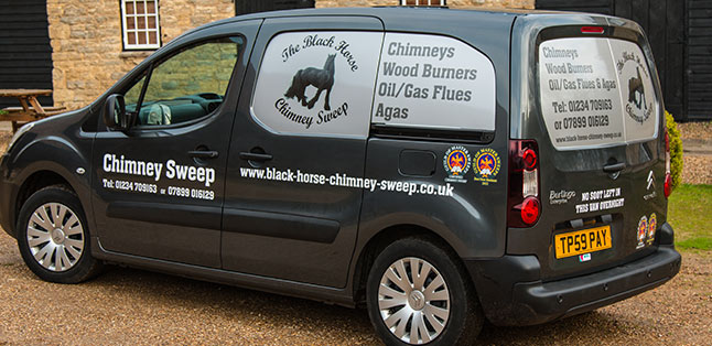 Chimney Sweeps Van