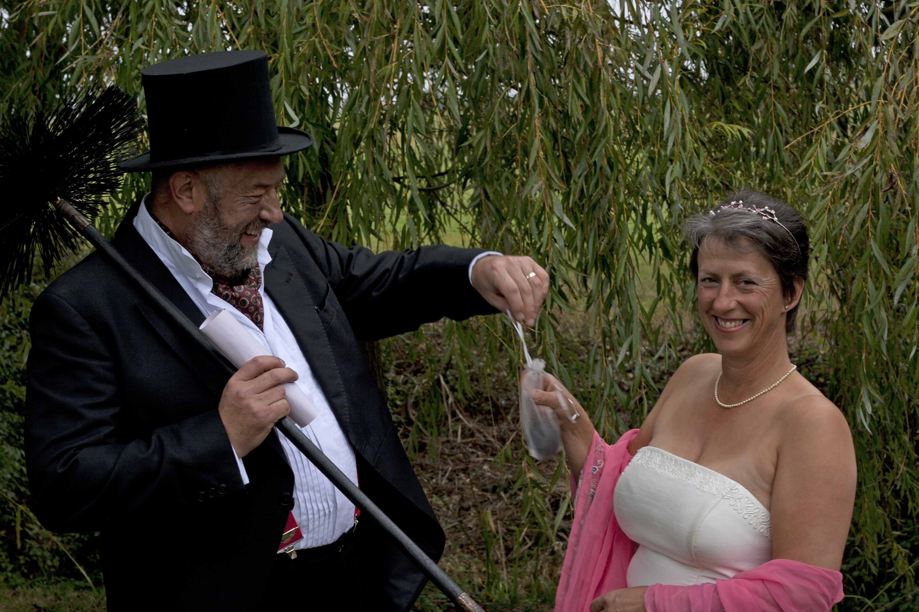Weddings Offered By The Black Horse Chimney Sweep The